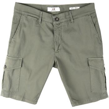 textil Herr Shorts / Bermudas Sei3sei PZV130 8157 Grön