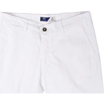 textil Herr Shorts / Bermudas Sei3sei PZV132 81497 Vit