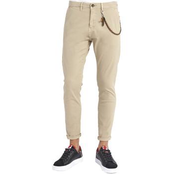 textil Herr Chinos / Carrot jeans Gaudi 911BU25002 Beige
