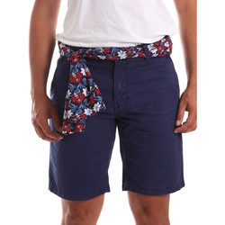 textil Herr Shorts / Bermudas Gaudi 911BU25032 Blå