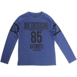 textil Barn Långärmade T-shirts Losan 723 1203AA Blå