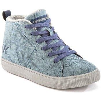 Skor Barn Höga sneakers Lumberjack SB32705 003 M64 Blå