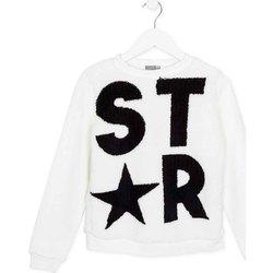 textil Barn Sweatshirts Losan 724 6018AB Vit