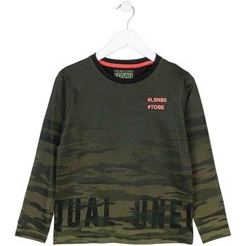 textil Barn Långärmade T-shirts Losan 723 1013AA Grön