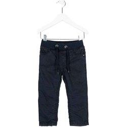 textil Pojkar Chinos / Carrot jeans Losan 725 9660AC Blå