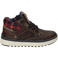Skor Barn Höga sneakers Wrangler WJ17220 Brun