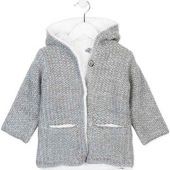 textil Barn Koftor / Cardigans / Västar Losan 726 5004AD Grå