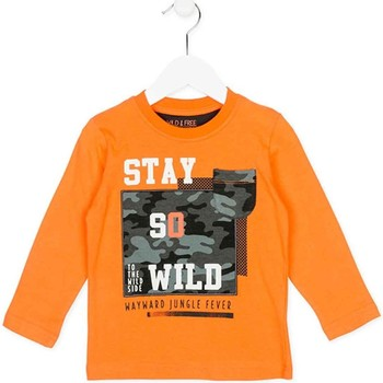 textil Barn Sweatshirts Losan 725 1013AC Orange