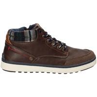 Skor Barn Höga sneakers Wrangler WJ17219 Brun