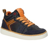 Skor Barn Höga sneakers Wrangler WJ17227 Blå
