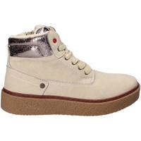 Skor Barn Höga sneakers Wrangler WG17236 Beige