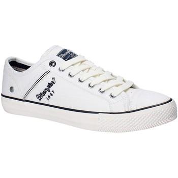Skor Herr Sneakers Wrangler WM181030 Vit