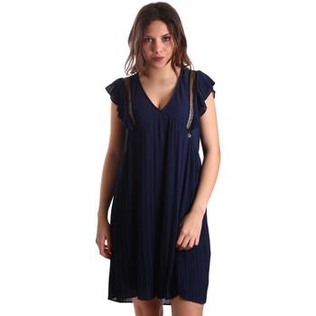 textil Dam Korta klänningar Gaudi 911BD15020 Blå