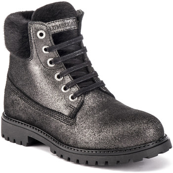 Skor Dam Boots Lumberjack SW00101 015 Q37 Svart