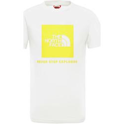 textil Barn T-shirts The North Face NF0A3BS2P801 Vit