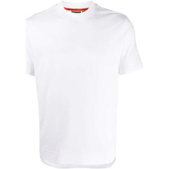 textil Herr T-shirts Napapijri NP0A4E8F Vit