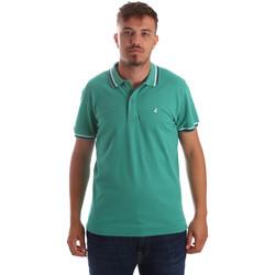 textil Herr Kortärmade pikétröjor Navigare NV82077 Grön