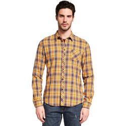 textil Herr Långärmade skjortor Gaudi 921BU45005 Gul