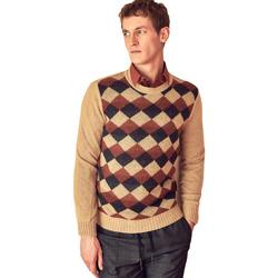 textil Herr Tröjor Antony Morato MMSW00855 YA400113 Beige