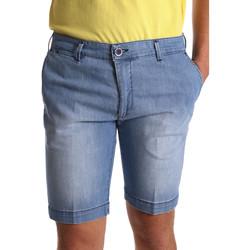 textil Herr Shorts / Bermudas Sei3sei PZV132 7118 Blå