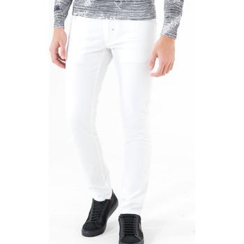 textil Herr 5-ficksbyxor Antony Morato MMTR00372 FA800060 Vit