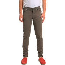 textil Herr 5-ficksbyxor Antony Morato MMTR00372 FA800060 Grön