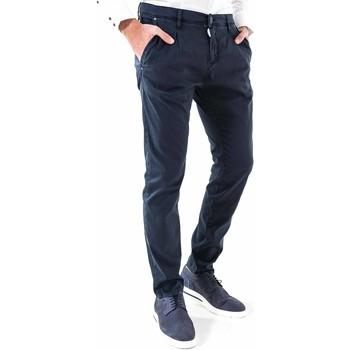textil Herr Chinos / Carrot jeans Antony Morato MMTR00378 FA800077 Blå