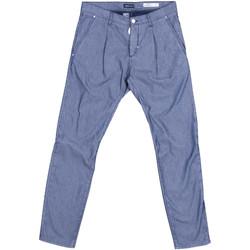 textil Herr Chinos / Carrot jeans Antony Morato MMTR00378 FA850155 Blå
