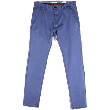 textil Herr Chinos / Carrot jeans Gaudi 811FU25033 Blå