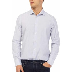 textil Herr Långärmade skjortor Gas 151144 Blå