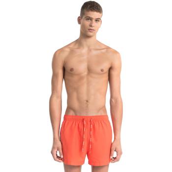 textil Herr Badbyxor och badkläder Calvin Klein Jeans KM0KM00162 Röd