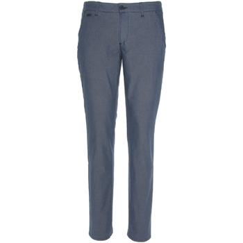 textil Herr Chinos / Carrot jeans NeroGiardini P870106U Blå