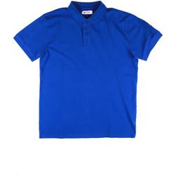 textil Herr Kortärmade pikétröjor Invicta 4452172/U Blå