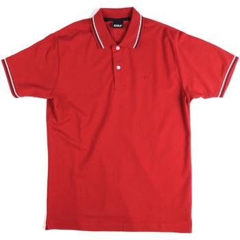 textil Herr Kortärmade pikétröjor Key Up 2Q70G 0001 Röd