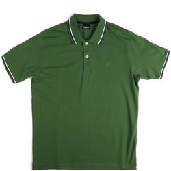 textil Herr Kortärmade pikétröjor Key Up 2Q70G 0001 Grön
