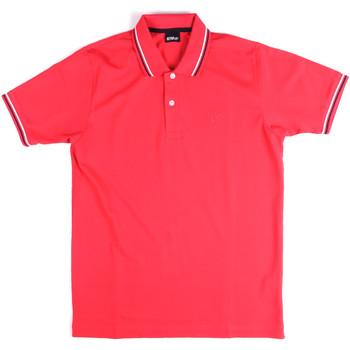 textil Herr Kortärmade pikétröjor Key Up 2Q70G 0001 Rosa