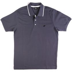 textil Herr Kortärmade pikétröjor Key Up 2Q711 0001 Blå