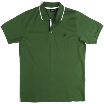 textil Herr Kortärmade pikétröjor Key Up 2Q711 0001 Grön