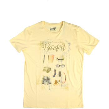 textil Herr T-shirts Key Up 2G84S 0001 Gul