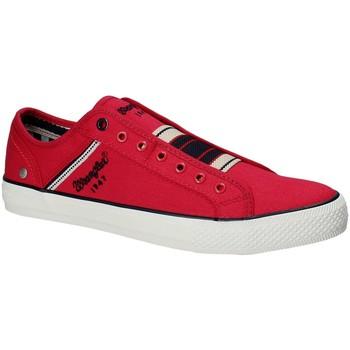 Skor Herr Sneakers Wrangler WM181033 Röd