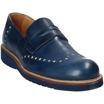 Skor Herr Loafers Exton 885 Blå