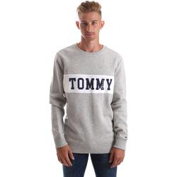 textil Herr Sweatshirts Tommy Hilfiger DM0DM05257 Grå