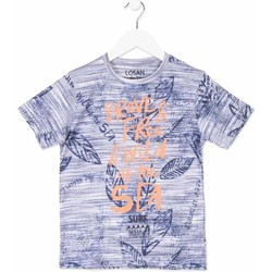 textil Barn T-shirts Losan 813-1023AA Blå