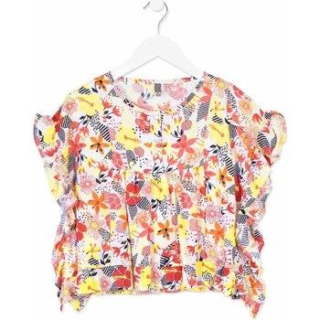 textil Flickor Skjortor / Blusar Losan 814-3003AB Orange