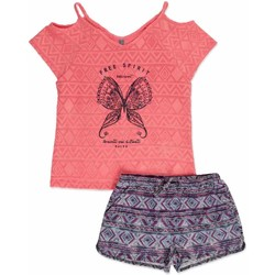 textil Flickor Set Losan 814-8022AB Rosa