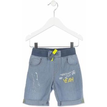 textil Pojkar Shorts / Bermudas Losan 815-9002AC Blå