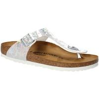 Skor Barn Flip-flops Birkenstock 1008093 Vit