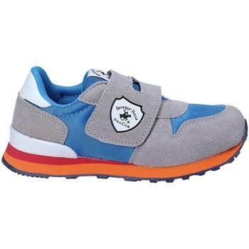 Skor Barn Sneakers Beverly Hills Polo Club BH-8017 Grå