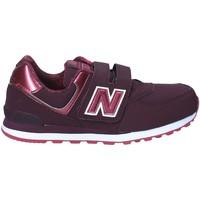 Skor Barn Sneakers New Balance NBKV574F2Y Röd