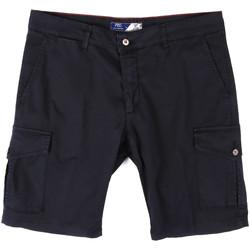 textil Herr Shorts / Bermudas Sei3sei PZV130 81408 Blå